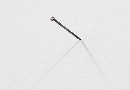 Bertram Haude: untitled (nail)
